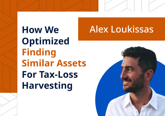 How we optimized finding similar assets for tax-loss harvesting