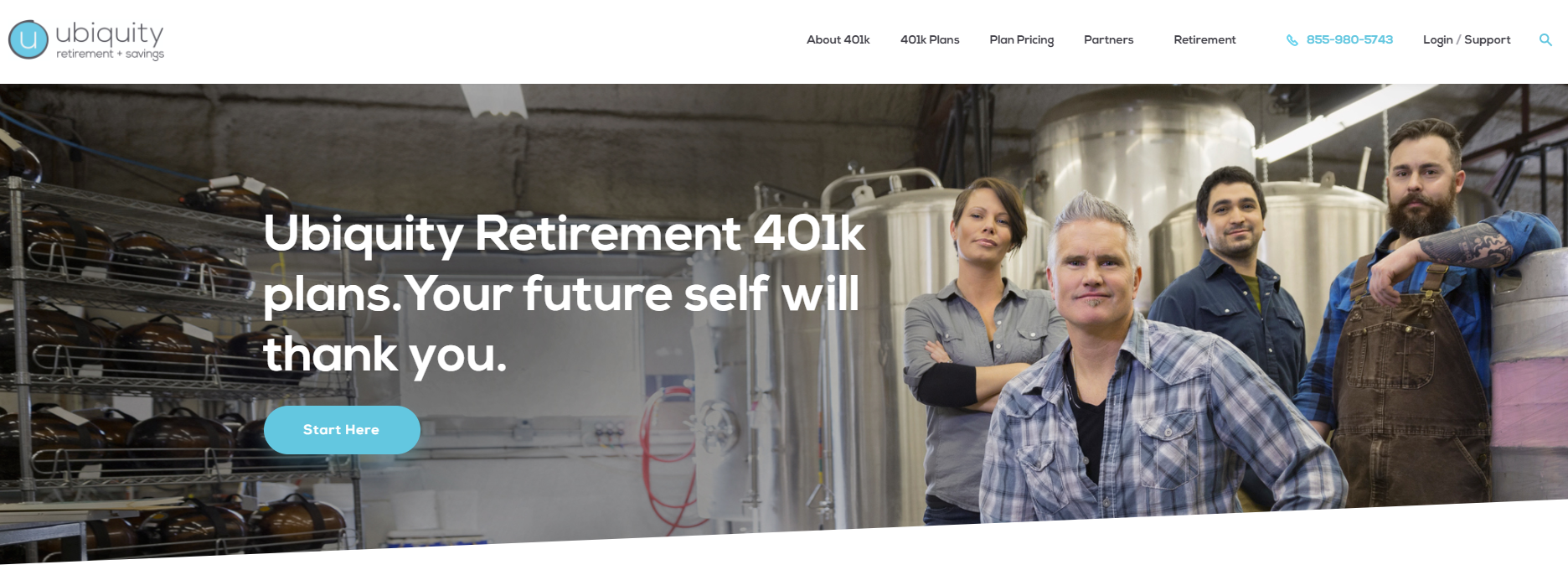 Ubiquity Retirement + Savings