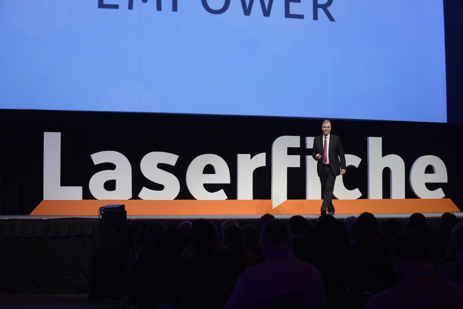 Laserfiche Empower Conference Chris Wacker